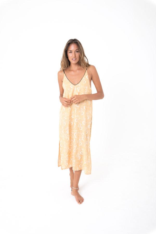 acacia backless dress kamala kaftan