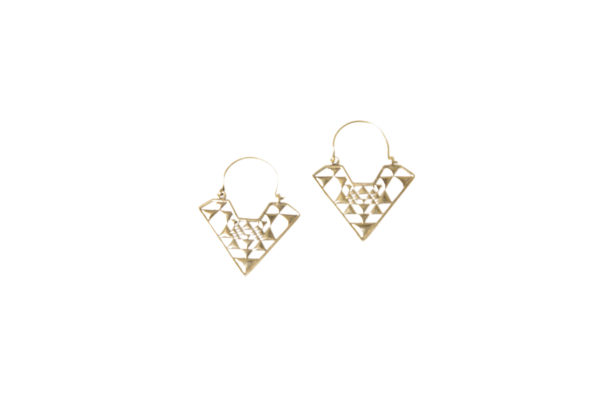 ginger earrings kamala kaftan